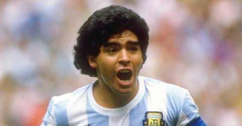 diego maradona playing style - photo #5