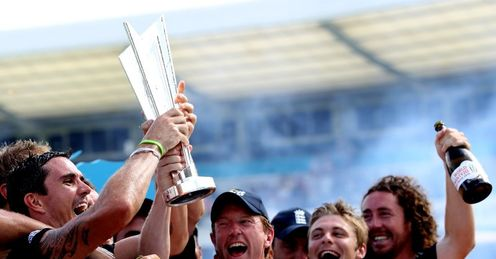 England: worthy winners