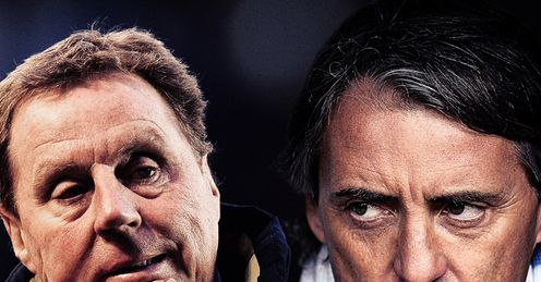 Redknapp: can he outwit Mancini?
