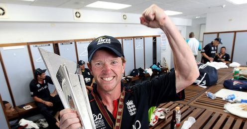 One for the fans: Collingwood paid tribute to supporters after grabbing T20 trophy
