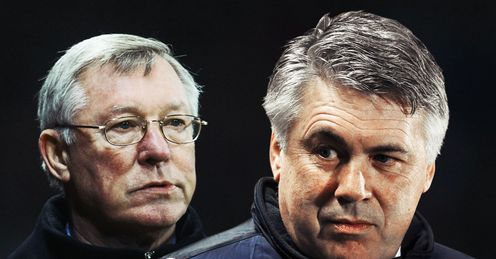 Ferguson & Ancelotti: will title scrap go down to the wire?