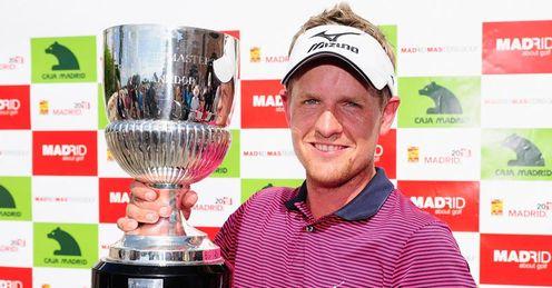 luke donald golf. Luke Donald - a winner again
