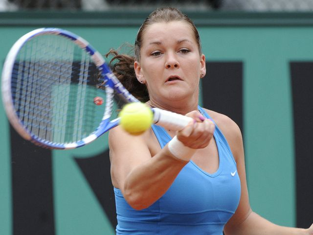 Radwanska - former junior champion.