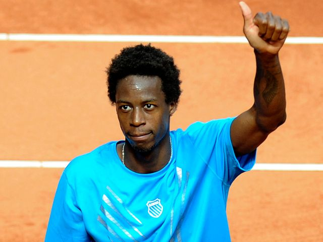 Monfils - home favourite.