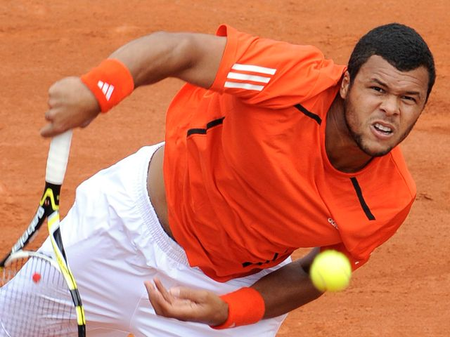 Tsonga - injury problem.