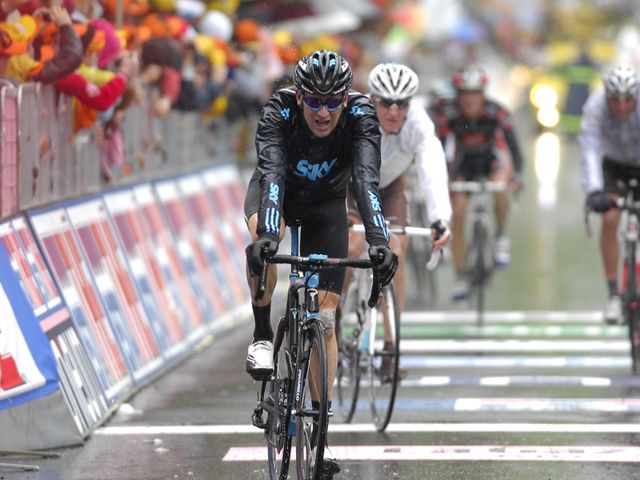Wiggins: Great ride in appaling conditions