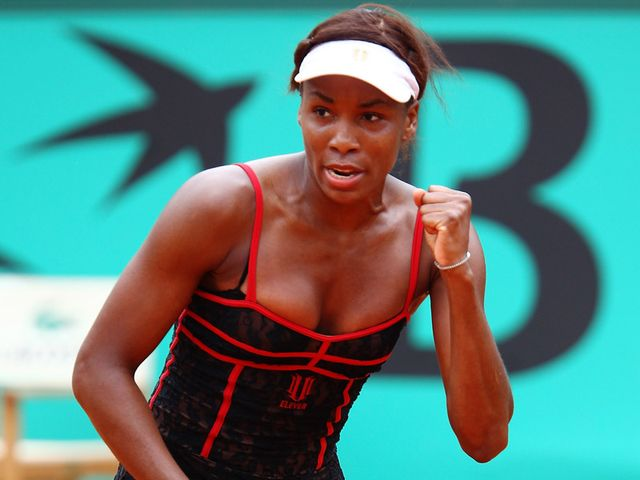 Venus - five-time champion in SW19.