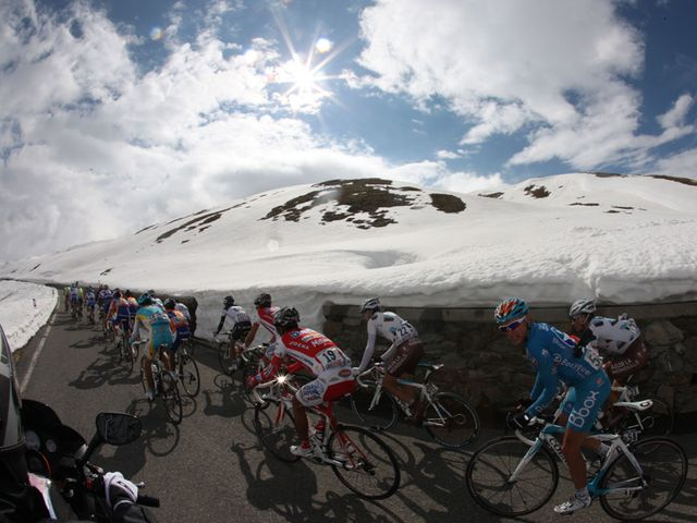 Stage 20 saw the Giro hit new heights