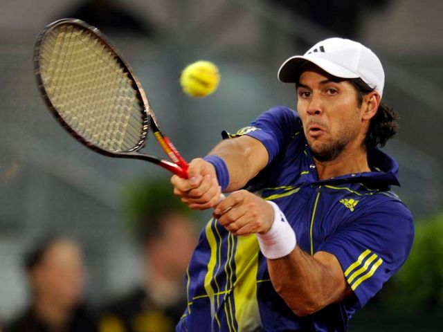 Verdasco - serial fourth-rounder.