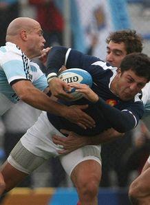 Argentina v France Florian Fritz