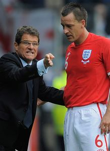 Terry right behind Capello