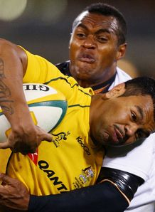 Kurtley Beale Australia fiji