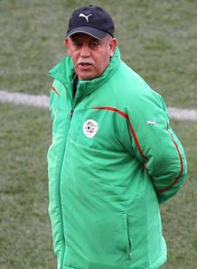 Algeria reward Saadane
