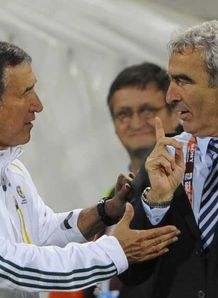 Domenech dodges handshake row