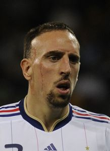 Ribery hits out at Domenech