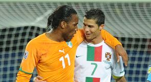 In the first match of Group G, Ivory Coast and Portugal can't be separated and the game ends a goalless draw.