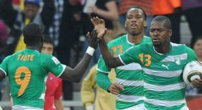 Romaric's second goal after 20 minutes gave Ivory Coast hope of pulling off a nine-goal swing but ultimately it proved too tall an order.