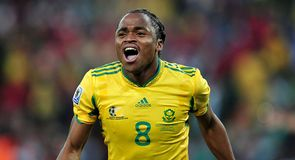 Siphiwe Tshabalala scores a cracking opening goal for the 2010 World Cup but South Africa can't hold onto the lead as the game ends a draw.
