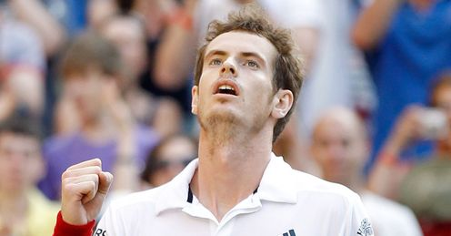 Murray: does he have the nerve to beat the world number one?