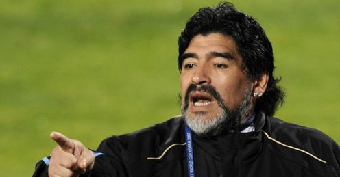 Maradona - decisions to make.