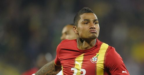 Kevin Prince Boateng Mohawk mohawk  and doing it well