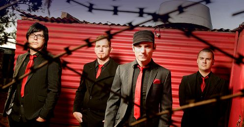 Parlotones Band Shot