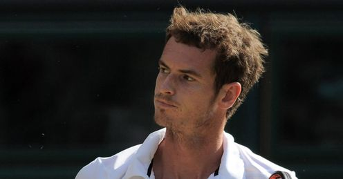 Murray: has yet to drop a set