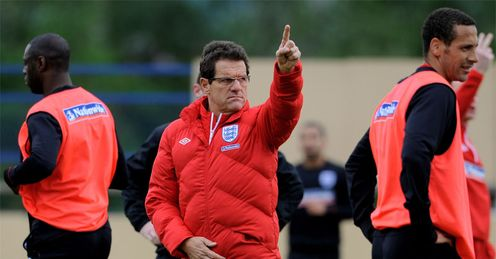 Capello: might just be the man to bring England World Cup glory