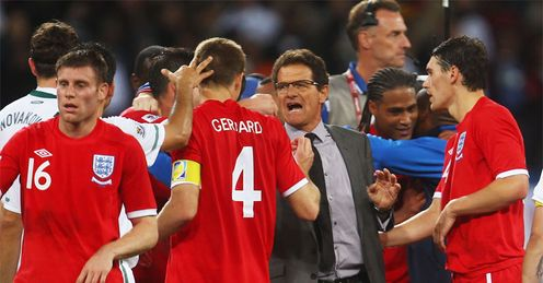 Capello: has reached out this week and England are better for it