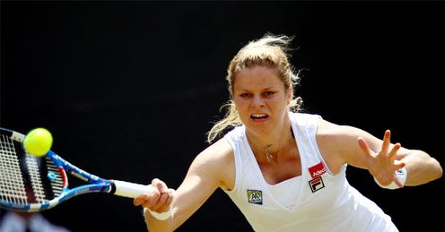 Clijsters: will face her compatriot next