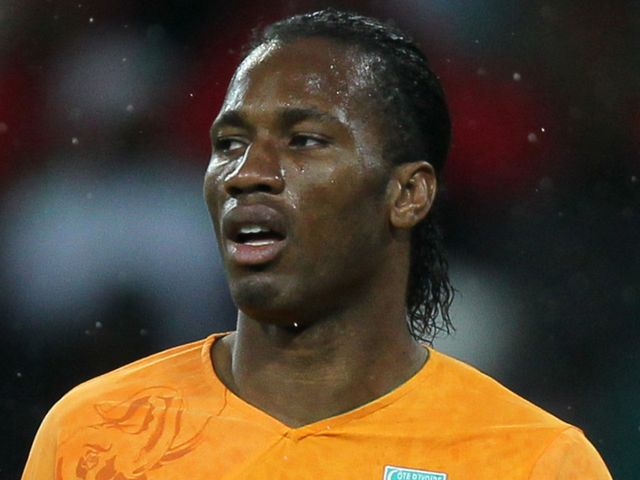 didier drogba model. 11 Didier Drogba
