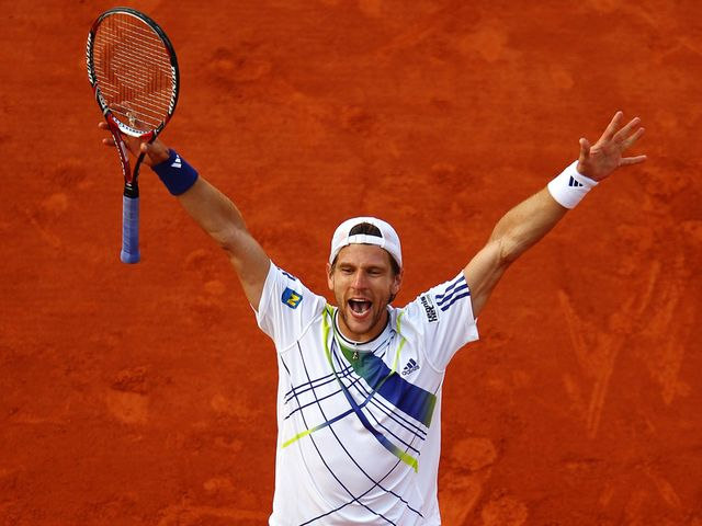 Melzer - former junior champion.