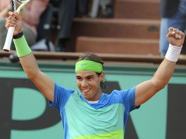 Nadal: Imperious form