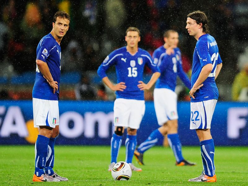  				 Italy 1 Paraguay 1   			