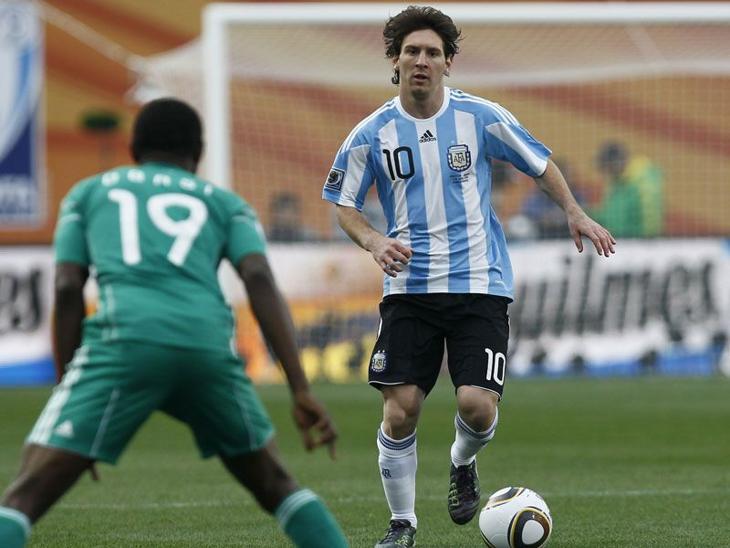  				Argentina 1 Nigeria 0  