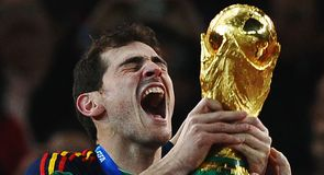 Spain are crowned world champions after edging Holland 1-0 in extra-time.