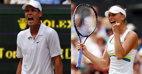 Berdych and Zvonareva: will fall short