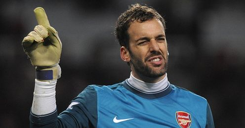 Almunia: costing Arsenal points