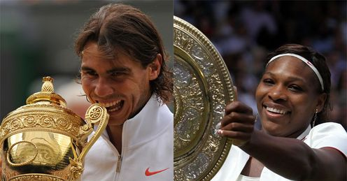 Serena and Nadal: worthy champions