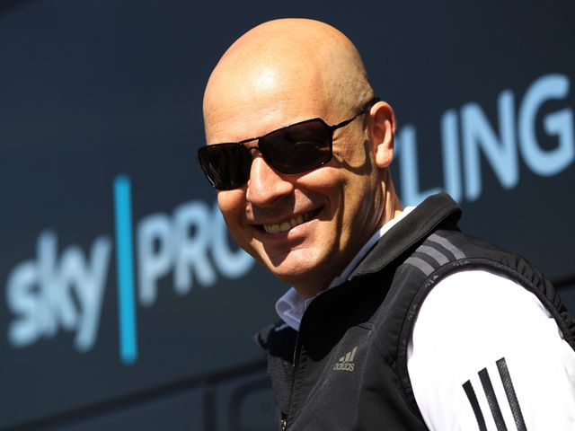 Dave Brailsford: Busy day, even on a 'rest' day