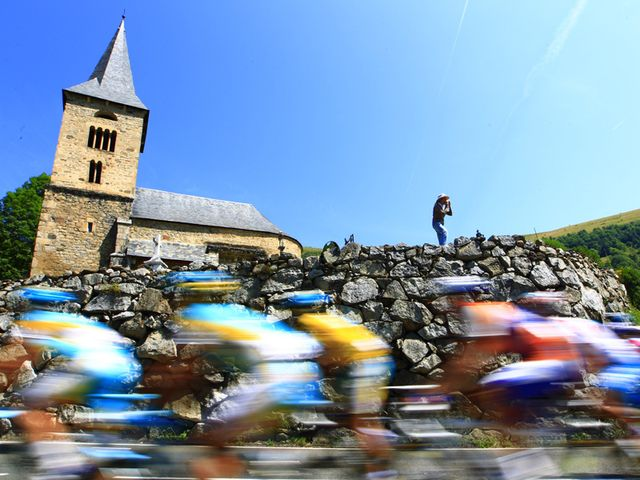 Tuesday's stage covered 199.5km between Bagnères-de-Luchon and Pau
