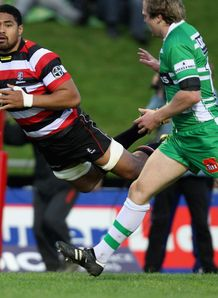 Fritz Lee against Manawatu