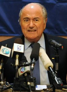 Blatter slams 'bad losers'