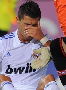 Injury blow for Ronaldo