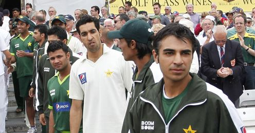 Right behind him: Butt (right) is keen to show faith in his inexperienced players