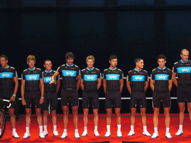 Team Sky: Finished 14th (photo: www.sirotti.it)