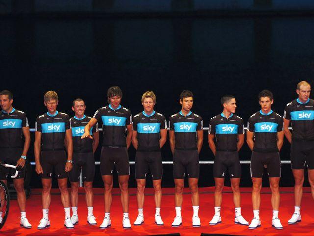 Team Sky: Finished 14th (photo: www.sirotti.it)