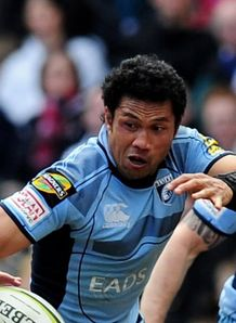 Casey Laulala Cardiff Blues 2010 magners