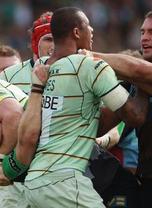 Harlequins and Northampton come to blows