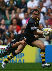Riki Flutey wasps v harlequins
